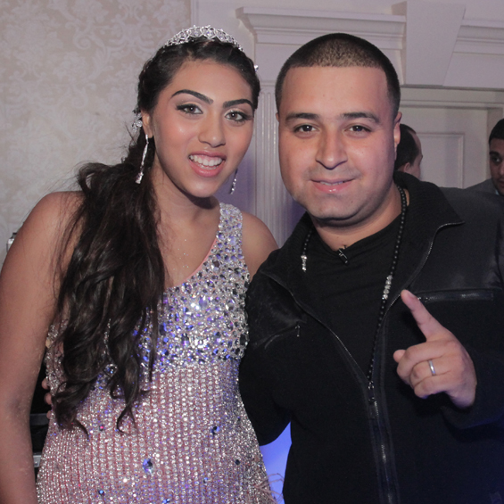 Anika with Top 40 DJ Camilo