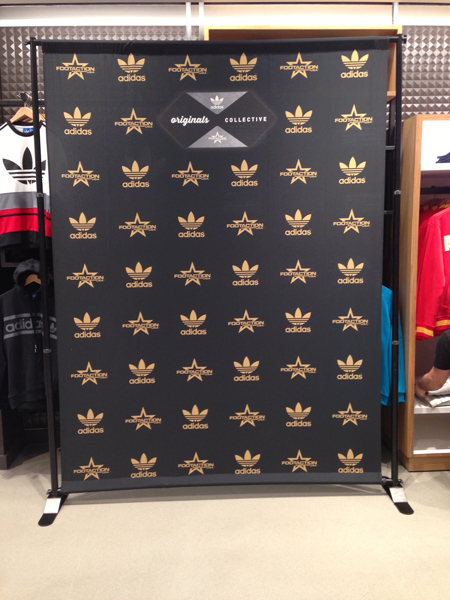 Adidas step and repeat