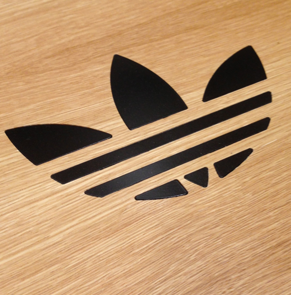 Adidas floor decal