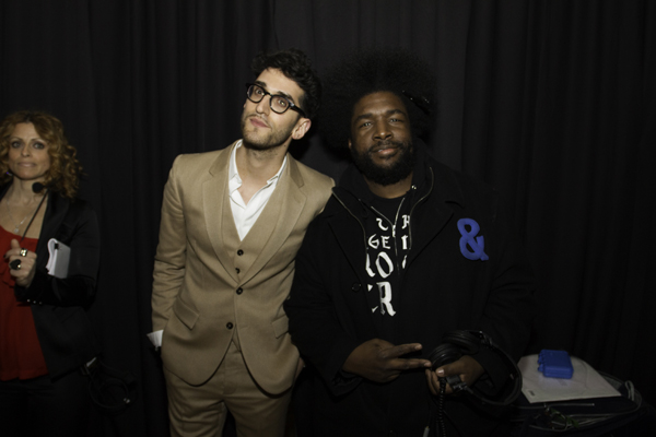 Dave 1 of Chromeo and Questlove