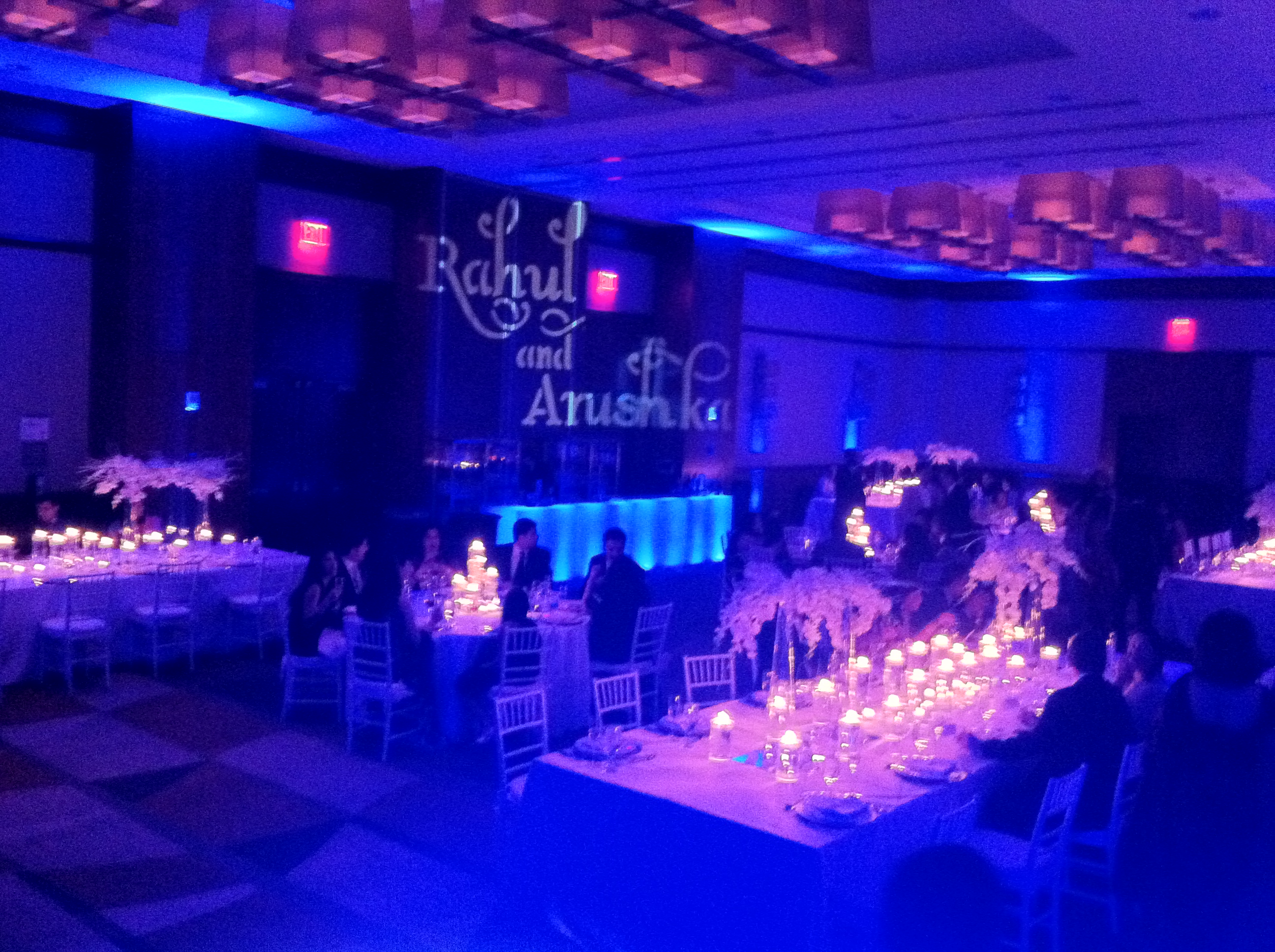 custom gobo at Westin Jersey City