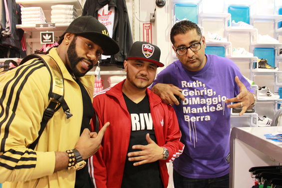 Marco Glorious, DJ Jay-5 and DJ Sharad